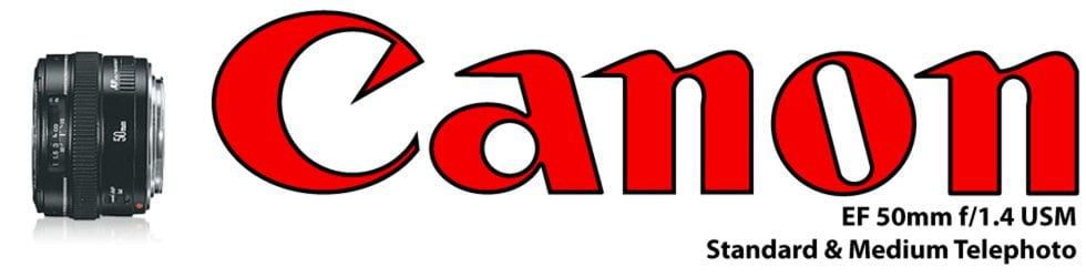 EF Canon 50mm f/1.4 USM