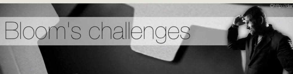 Bloom's Weekend Challenge 3