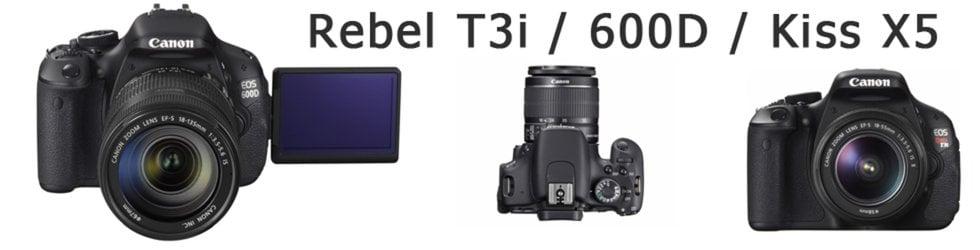 Canon Rebel T3i / 600D / Kiss X5 on Vimeo