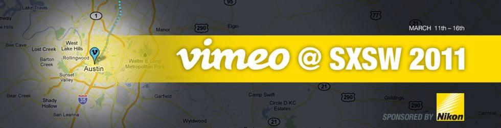 Vimeo SXSW!