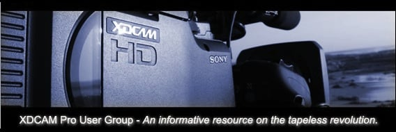 XDCAM Pro User Group