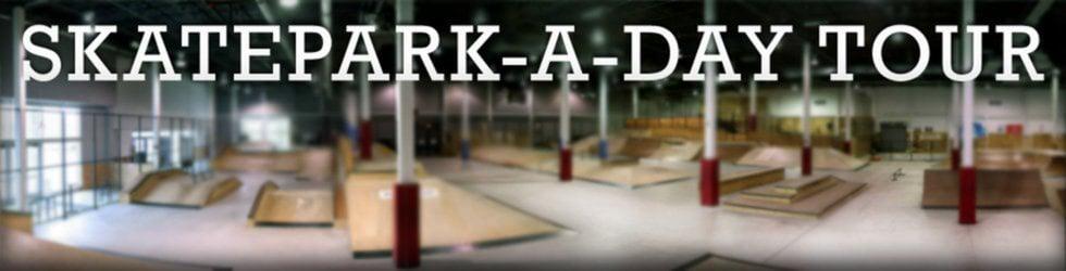 Skatepark-a-Day Tour