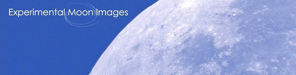 Experimental Moon Images