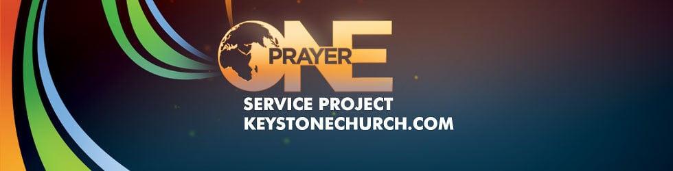 Keystone Church's One Prayer Service Project