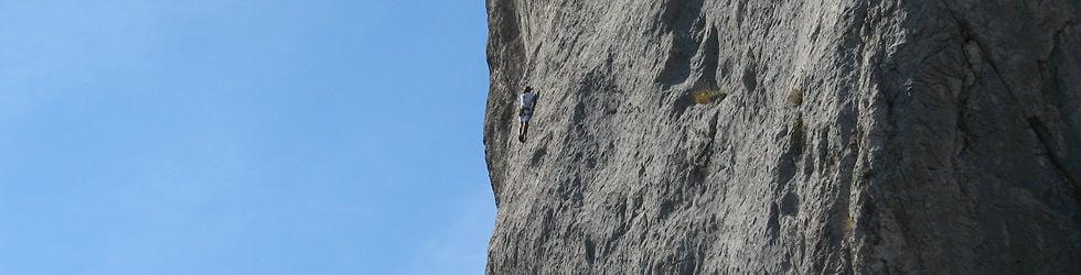 Climbing in Ukraine