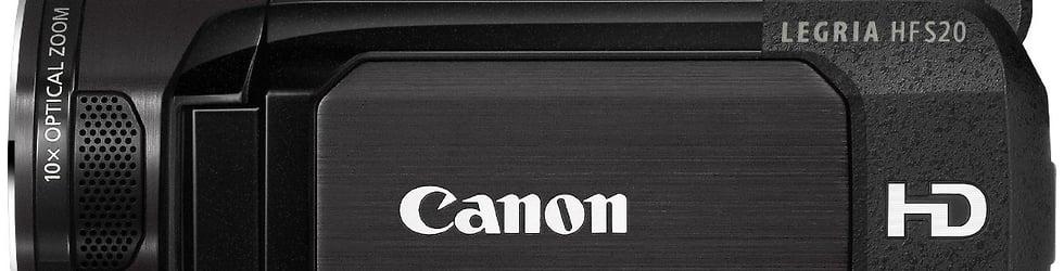 Canon Legria HF S200/S20/S21