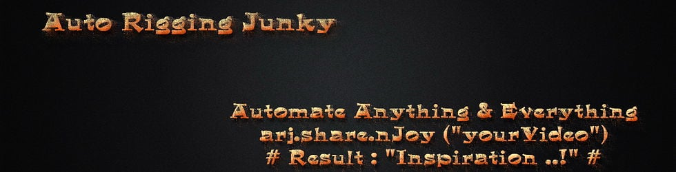 Auto Rigging Junky