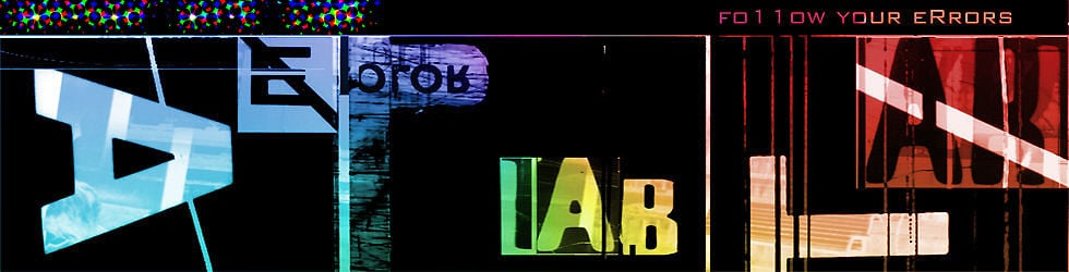 █ Error Art Lab █
