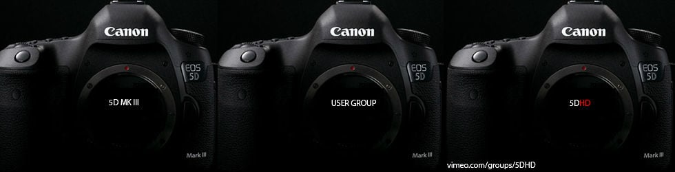 Canon 5DHD MkIII User Group