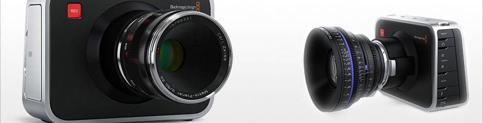 Blackmagic Design Cinema Camera, Pocket, 4K, etc.