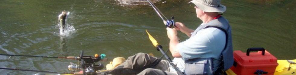 Kayak River Fishing