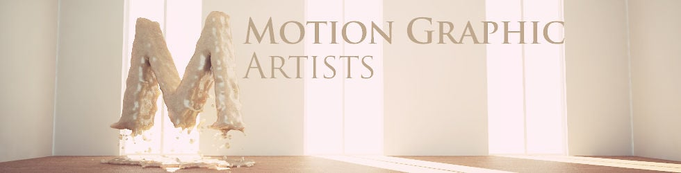 Motion Graphic Artists