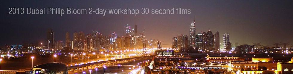 2013 Dubai Philip Bloom workshop group