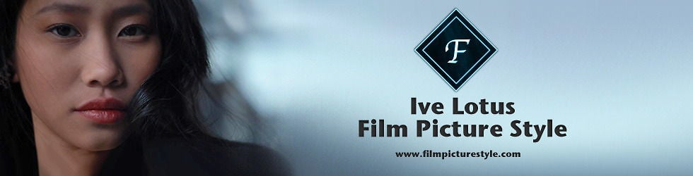 Ive Lotus Film Picture Style
