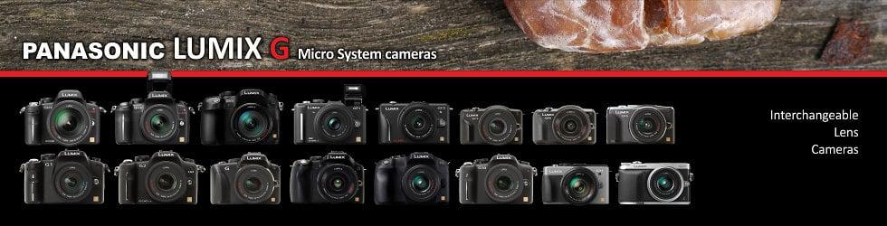 Panasonic LUMIX G Micro System cameras
