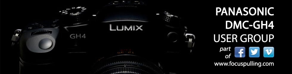 Panasonic GH4 User Group