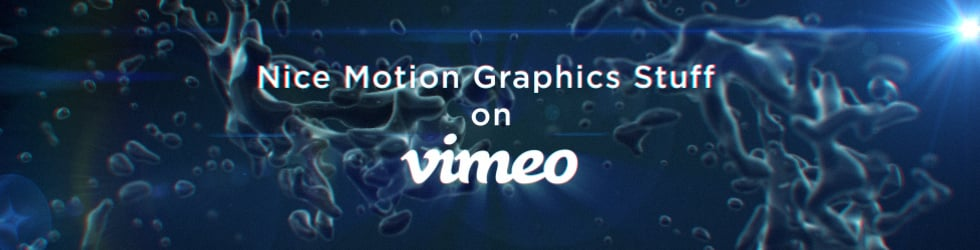 Nice Motion Graphics Stuff on Vimeo