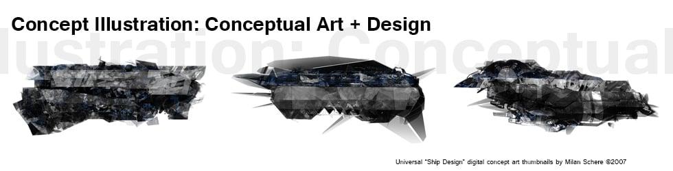 Concept Illustration: Conceptual Art and Design