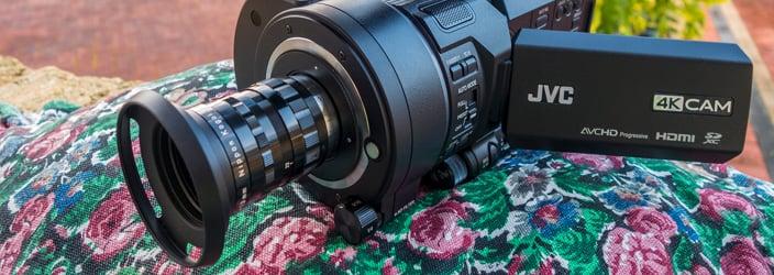 C-Mount Lens on Digital