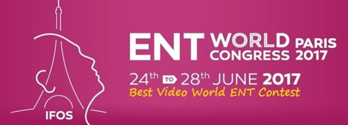 ENT WORLD VIDEO CONTEST PARIS 2017