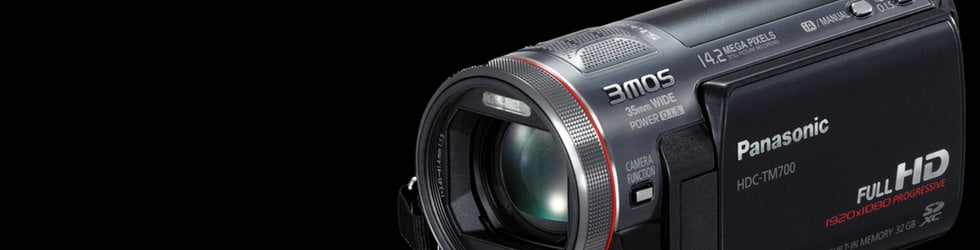 Panasonic HDC-HS700/HDC-TM700