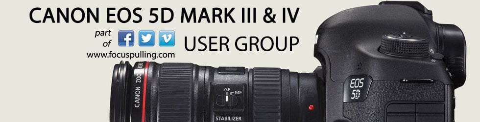 Canon EOS 5D Mark III & IV User Group