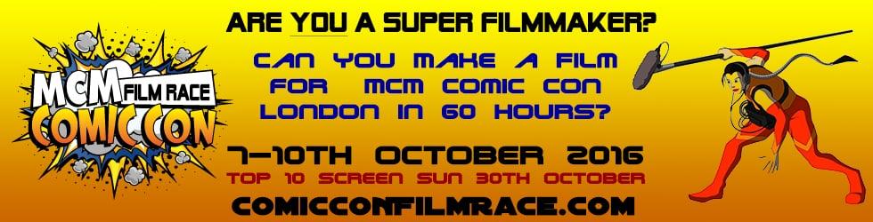MCM Comic Con Film Race