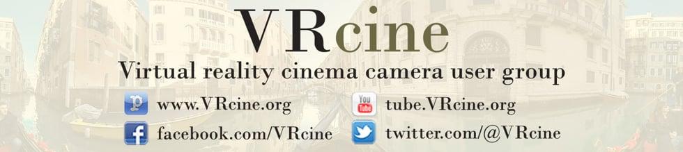 VRcine: Virtual Reality Cinema Camera User Group