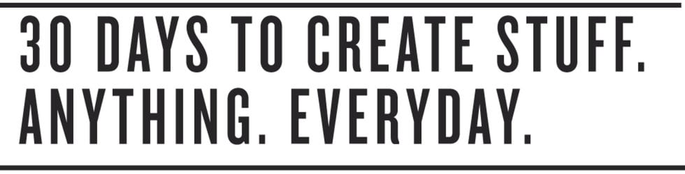 #30daysofcreativity