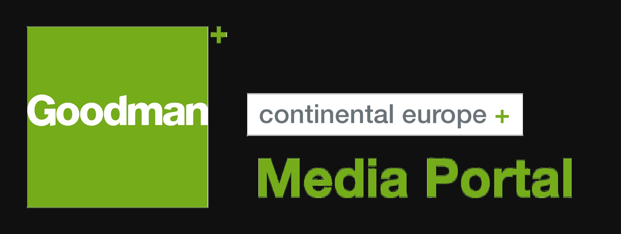 goodman logo. goodman europe media portal goodman logo