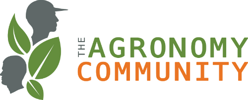 THE AGRONOMY COMMUNITY