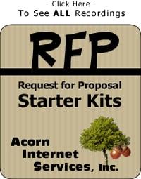 RFP Starter Kits - RFP Starter Kit 2 - Web Site Investment