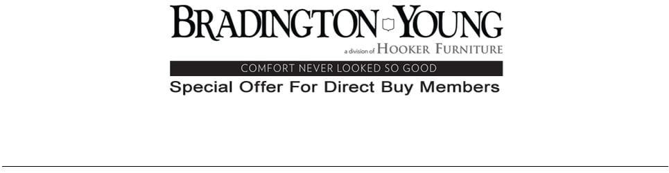 bradington young logo. Contemporary Young BRADINGTON YOUNG DIRECT BUY MEMBERS Intended Bradington Young Logo T