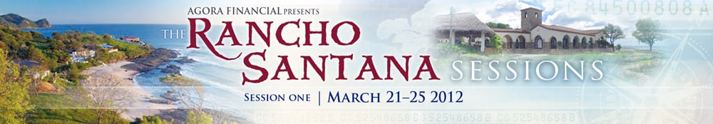 The Rancho Santan Sessions: March 21-25, 2012