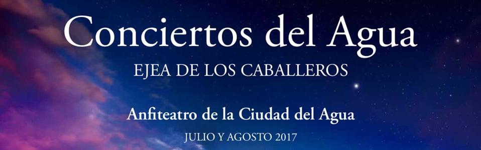 CONCIERTOS DEL AGUA 2017