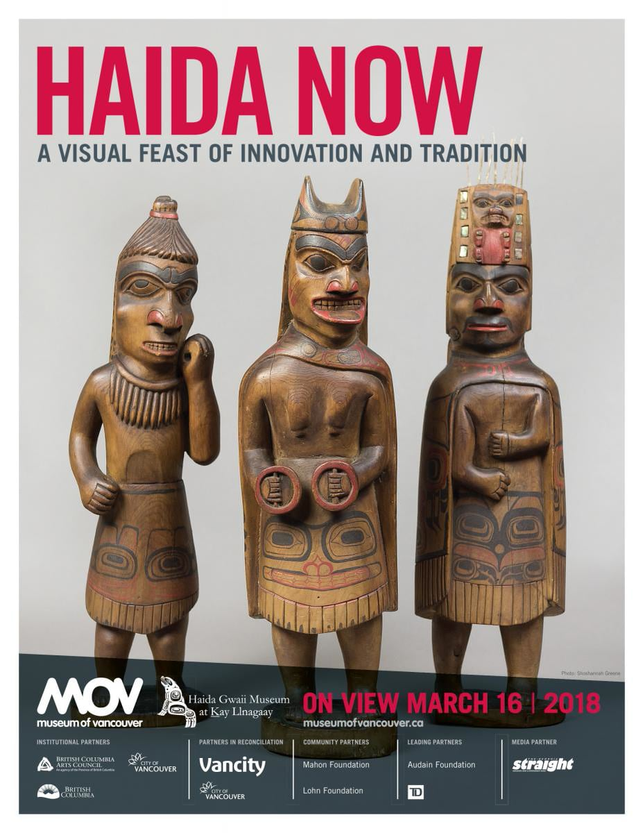 Documenting Haida Now at the Museum of Vancouver