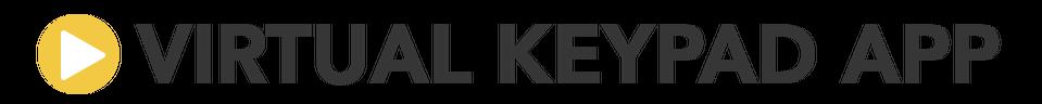 Virtual Keypad App