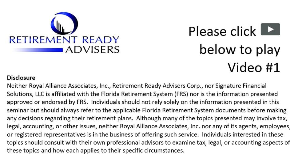 DROP & Retire by Retirement Ready Advisers
