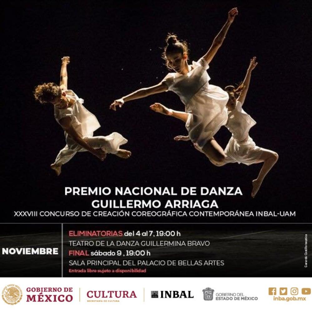 Premio Nacional de Danza Guillermo Arriaga 2019