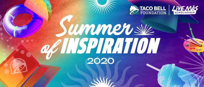 Live Más Scholarship Summer of Inspiration