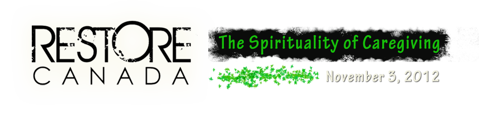 The Spirituality of Caregiving
