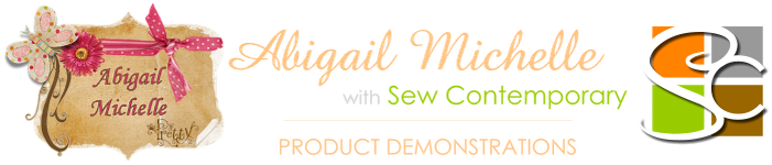 Abigail Michelle (with Sew Contemporary)