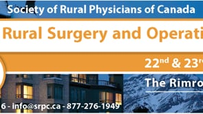 Summit on Rural Surgery and Operative Delivery - Banff January 2016