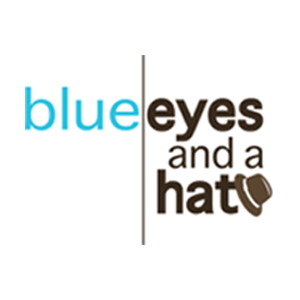 Profile picture for blue eyes and a hat