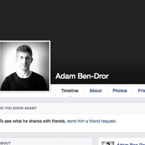 Profile picture for Adam Ben-Dror