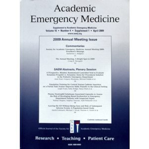 Profile picture for Academic Emergency Medicine