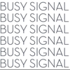 The Busy Signal