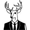 Deer In Motion / Søren Hjort