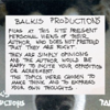 BALKIS PRODUCTIONS