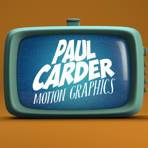 Profile picture for Paul Carder Motion Graphics